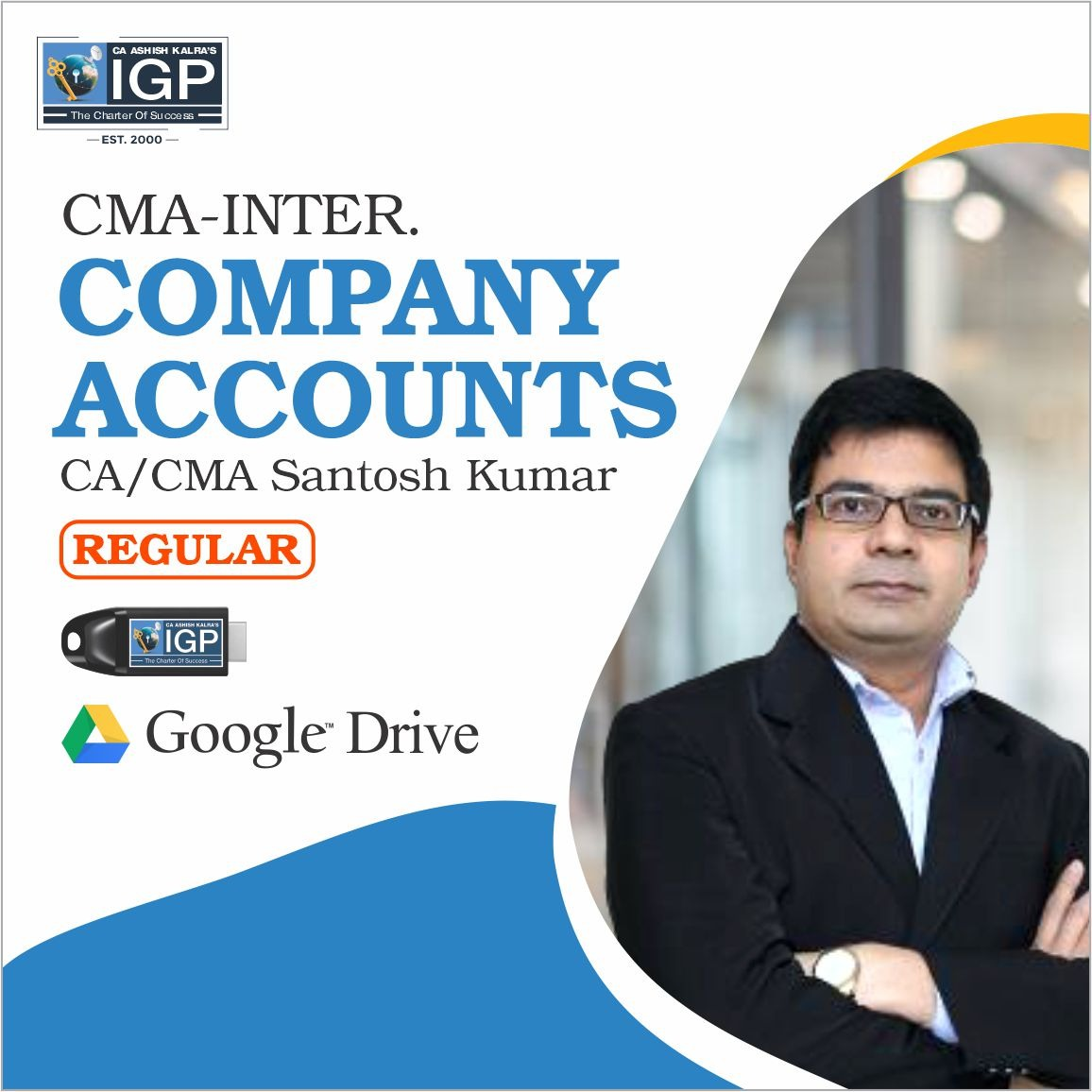 CMA-COMPANY ACCOUNT-CA/CMA SANTOSH KUMAR